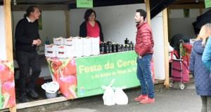 San Clodio (Lugo) exalta as cereixas e o aceite de Ribas de Sil