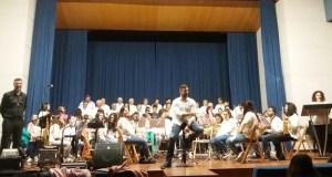 Concerto didáctico da Escola de Música de Sober no Centro Sociocomunitario