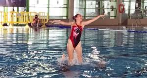 Unhas 140 nadadoras participarán no campionato galego de natación artística, en Ourense