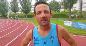 O valdeorrés José Fernández Nieves, campión galego nos 5 km marcha