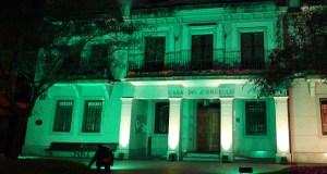 A fachada do Concello do Barco iluminarase de verde no Día Mundial da ELA