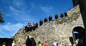 A Banda de Gaitas do Bolo presentarase o 14 de xullo no II Festival no Castelo