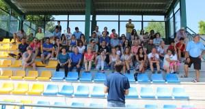 O psicólogo deportivo Abel Nogueira clausura o campus de fútbol da Rúa
