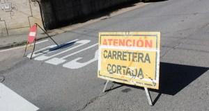 Cortes nalgúns puntos da vila ruesa polas obras de reforzo de firme na estrada OU-602