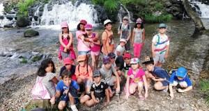 Xogos, visitas culturas e ata unha pequena horta escolar, no verán infantil de Verín