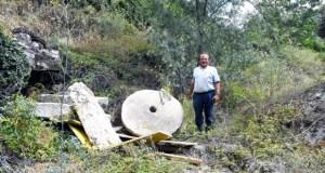 Un paso máis na rehabilitación do muíño fariñeiro das Ermitas (O Bolo)