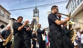 A Banda de Música do Barco actúa por vez primeira en Trives