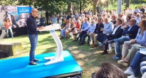 Acto de presentación de Jesús Vázquez como candidato á alcaldía de Ourense