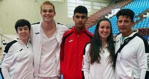 Tres membros do club River Stone, seleccionados para o campionato de España de karate