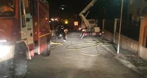 Incendio nunha vivenda en Trives