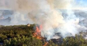 Novo incendio no Parque Natural do Xurés