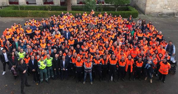 Celanova acolle as III Xornadas de Convivencia de Agrupacións de voluntarios de Protección Civil de Ourense
