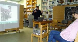 A tradición do Samaín en Galicia, contada por Rafael López Loureiro na Biblioteca do Barco