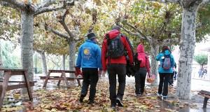 Os peregrinos do Bierzo e Valdeorras entran en Galicia na III etapa do Camiño de Inveno
