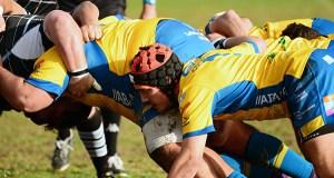 O Campus U. Ourense Rugby cae ante o CRAT da Coruña, mermado polas baixas