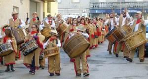 """O toque do folión Os Labregos de Trives, en """"Aquí Galicia"""""""