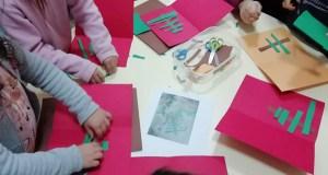 Obradoiro infantil de manualidades con toque de Nadal, na Biblioteca de Trives