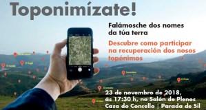 """A campaña """"Toponimízate. Falámosche dos nomes da túa terra"""" recala en Parada de Sil"""