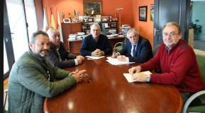 """""""Imos impulsar en Valdeorras proxectos en infraestruturas paralizados ata agora"""""""