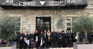 Conmemoración do Día contra a Violencia de Xénero en Quiroga