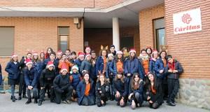 Caravana solidaria do Colexio Plurilingüe Divina Pastora a Cáritas