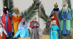 Os cativos de Vilamartín de Valdeorras protagonizan o belén vivinte