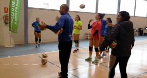 Nova concentración da Federación Galega de Voleibol en Quiroga