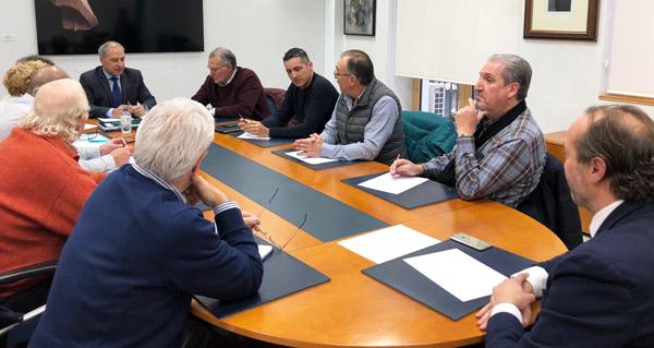 Os alcaldes do Barco e Monforte dan conta da reunión mantida en Fomento na comisión da seguemento da A-76