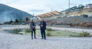 O presidente da Deputación de Ourense visita Carballeda de Valdeorras