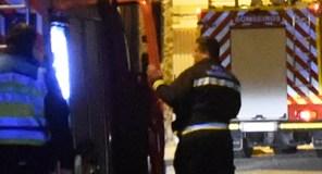 Incendio de madrugada nunha adega en Somoza (A Rúa)