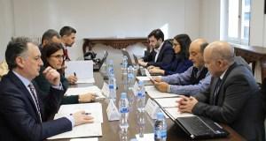 """Reunión dos socios do proxecto europeo """"Raia Termal"""" para valorar as actuacións programadas"""