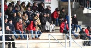 Táboas nunha fría tarde de fútbol en Calabagueiros