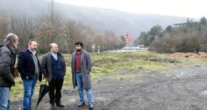 A CHMS elaborará un estudo para buscar solución aos verquidos da poboación e industriais en Arcos (Vilamartín)