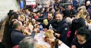400 persoas celebran en Piñeiro o 25 aniversario da Cea do Cocido