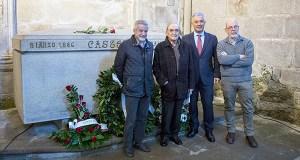 """O acto """"Castelao e Prada. Irmaus!"""" lembra en Ourense o vínculo entre ambos intelectuais galegos"""