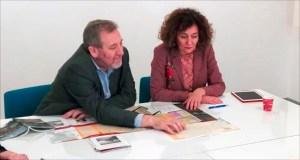 A Asociación de Municipios do Camiño de Inverno a Santiago reúnese co xerente do Xacobeo