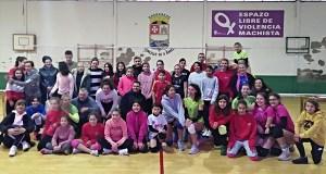 """Torneo de voleibol """"Roscón de Reis"""", no pavillón municipal do Barco"""
