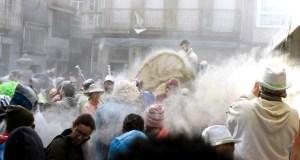 Xinzo tínguese de branco no Domingo Fareleiro