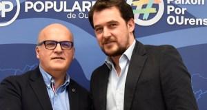 O empresario Álvaro Fernández, candidato do PP á alcaldía da Rúa