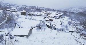 Espectacular estampa branca en Trevinca (A Veiga)