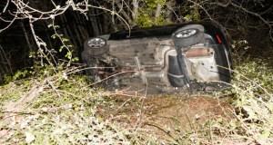 Accidente de tráfico con catro feridos na estrada de Alixo (O Barco)