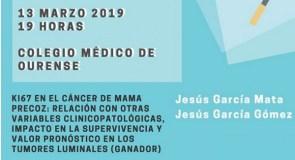"""Un estudo do valdeorrés Jesús García Mata sobre o marcador """"ki67 no cancro de mama precoz"""" gana o XXXIV Premio Cabaleiro Goás"""