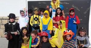 Festa de Carnaval no colexio Pablo VI-Fátima da Rúa