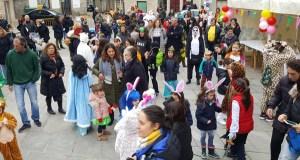 Entroido infantil en Trives