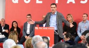 """Pedro Sánchez: """"Se algo precisa España é xustiza social, convivencia e rexeneración"""""""