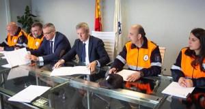 A Asociación Provincial de Protección Civil de Ourense asina un convenio de colaboración coa Xunta
