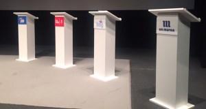 Todo listo para a retransmisión do primeiro debate político das xerais