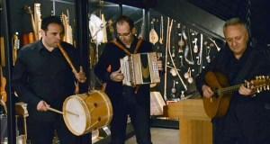 Concerto de La Musgaña no Museo Etnolóxico de Ribadavia