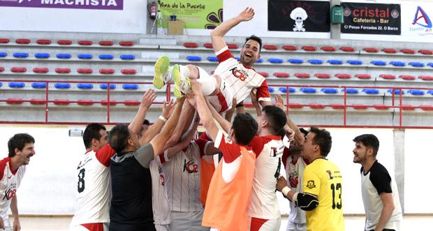 O Tres Cuñados FS vence ao Univ. de Valladolid FS e métese na Copa do Rei