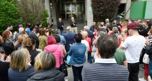 "Concentración na Rúa ""contra a deslocalización de Iberdrola"""